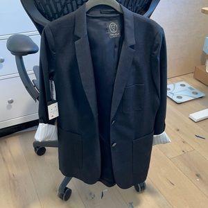 Aritzia talula blazer jacket charcoal grey 12